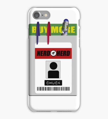 Chuck pocket protector iPhone Case/Skin