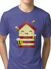Bee House Tri-blend T-Shirt