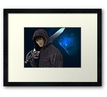 fantasy warrior Framed Print