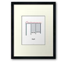 San Francisco Muni Stop Print Framed Print