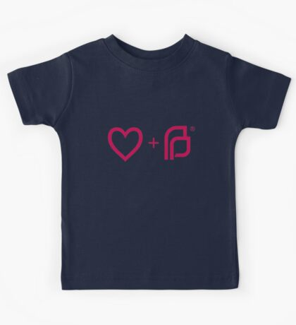 I ♡ Planned Parenthood pw Kids Tee