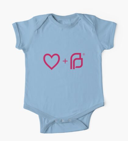 I ♡ Planned Parenthood pw One Piece - Short Sleeve