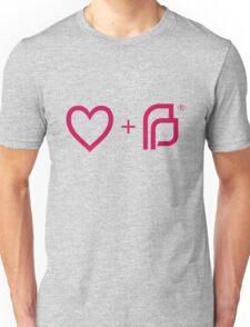 I ♡ Planned Parenthood pw Unisex T-Shirt