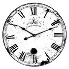 Antique and Vintage Clock Digital Engraving Image by digitaleclectic