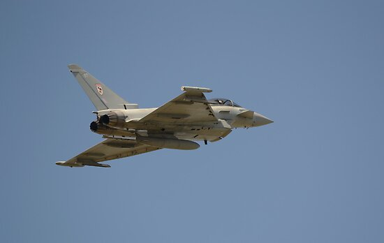 Eurofighter Typhoon by Nigel Bangert