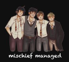 Mischief Managed? Mischief Managed. T-Shirt