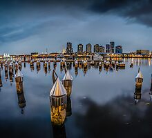Melbourne's Docklands by Russell Charters