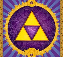 The Divine Triforce (Legend of Zelda) by enthousiasme