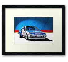 Peter Jackson Skyline Framed Print