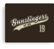 The Gunslingers Canvas Print