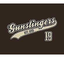 The Gunslingers Photographic Print