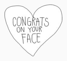 congrats on your face by lazyville