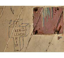 Ken Leach Photographic Print