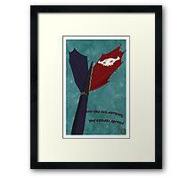 Toothless Tee Framed Print