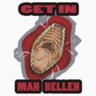 Get In Mah Belleh Red by Gothyk