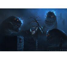 Trio of Worms Photographic Print