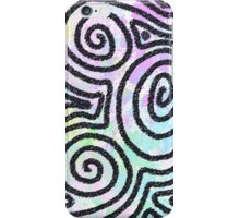 pastel swirl iPhone Case/Skin