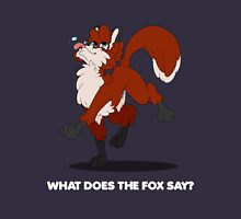 What does the fox say? (dark shirts) Unisex T-Shirt