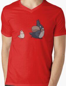 Totoro's friends Mens V-Neck T-Shirt