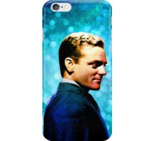 James Cagney, blue screen iPhone Case/Skin