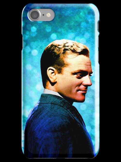 James Cagney, blue screen by sebmcnulty