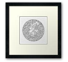 Velocilith Framed Print