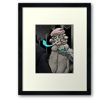 I'll Off You Back Framed Print