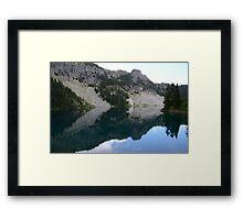 Eunice Lake, Mount Rainier National Park Framed Print