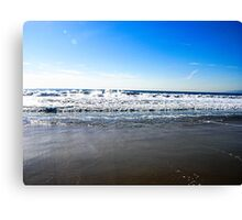 Beautiful Day At The Beach Canvas Print