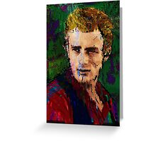 James Dean. Giant. Greeting Card