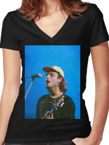 Mac Performing Women's Fitted V-Neck T-Shirt