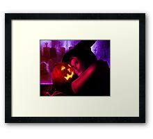 Halloween Witch 2011 Framed Print