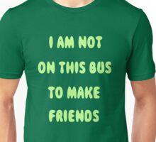 Public Transport Shirt- green version Unisex T-Shirt