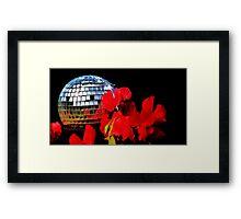 garden disco Framed Print
