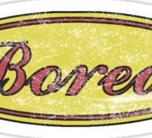 SuperBored Logo Sticker