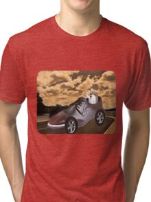 ▂ ▃ ▅ ▆ █ TRY DRIVING A MILE IN MY SHOE ~ TEE SHIRT █ ▆ ▅ ▃ Tri-blend T-Shirt