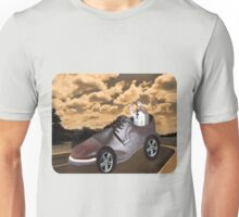 ▂ ▃ ▅ ▆ █ TRY DRIVING A MILE IN MY SHOE ~ TEE SHIRT █ ▆ ▅ ▃ Unisex T-Shirt
