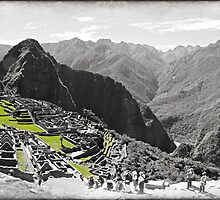 the wonder of machu pichu  by gruntpig