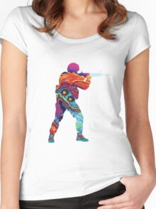 Hyper Beast CSGO Women's Fitted Scoop T-Shirt