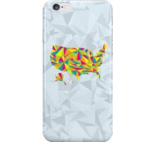 Abstract America Bright Earth iPhone Case/Skin