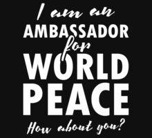 World Peace Campaign Kids Tee