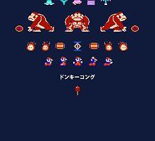Donkey Kong by slippytee