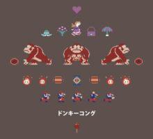 Donkey Kong One Piece - Short Sleeve
