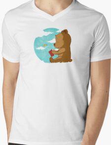 Early Lesson Mens V-Neck T-Shirt