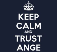 Melbourne Victory - Keep Calm and Trust Ange by ArchOfTriumph