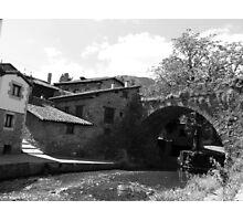 San Cayetano´s Bridge (Potes, Cantabria, Spain) Photographic Print