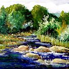Creek's Running High by Jim Phillips