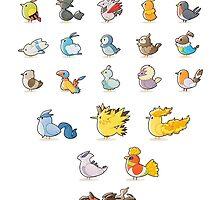 PokeBirds by JenMondain