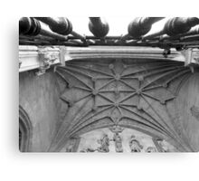 Oviedo´s Cathedral (Main entrance) Canvas Print