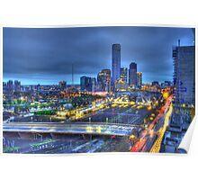 Magnificent Melbourne Skyline Poster